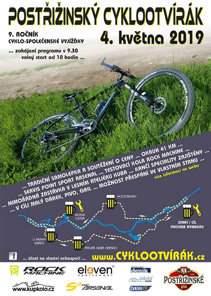 Plakát Cyklootvírák 2019